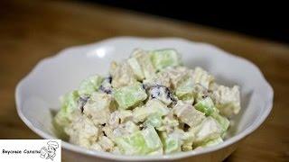 Салат с курицей черносливом и огурцами