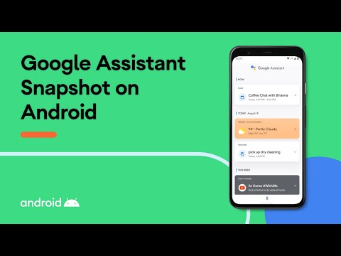 Get your tasks done with Google Assistant Snapshot on Android