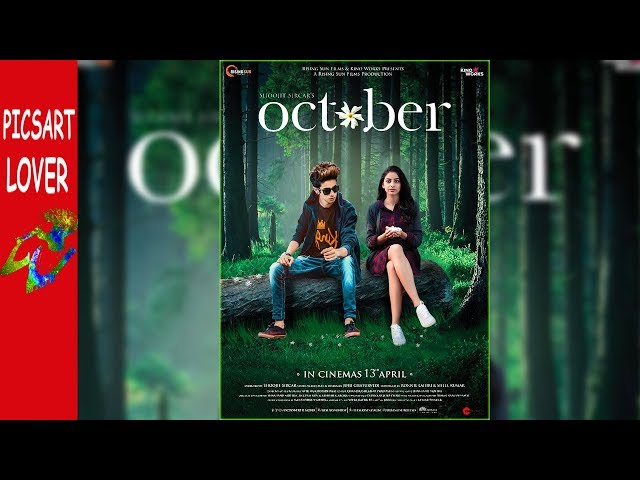PICSART OCTOBER MOVIE POSTER EDITING BY PICSART LOVER