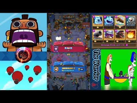 Clash Royale Hog 2.6 vs Battle Balloon - warrior 2