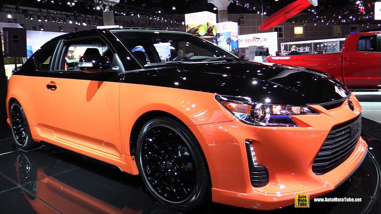 Custom Scion Tc >> 2015 Scion tC Release Series 9.0 - Exterior and Interior Walkaround - Debut at 2014 LA Auto Show ...