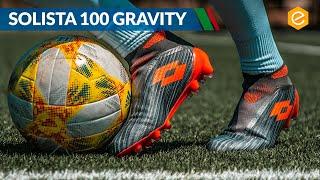 SOLISTA 100 GRAVITY IN CAMPO - Test della nuova LOTTO senza lacci