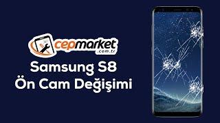Samsung S8 Ön Cam Değişimi, SAMSUNG S8 PLUS ÖN EKRAN CAM KIRILMASI