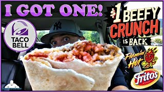 Video Taco Bell® | Beefy Crunch Burrito Review! 🌮🔔🔥🌯 download MP3, 3GP, MP4, WEBM, AVI, FLV Agustus 2018