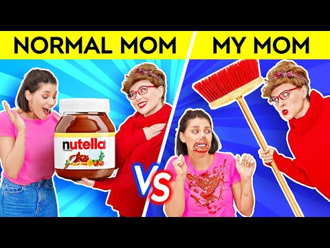 YOU'RE DOING BETTER THAN MOM THINKS || Normal Mom VS My Mom Funny Memes and Pranks by 123 GO! SCHOOL