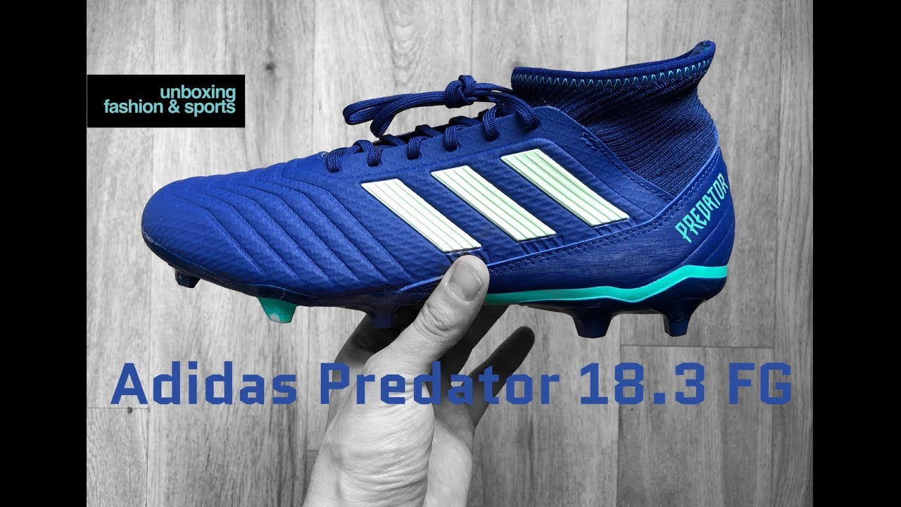 7213a3abb2c8 Adidas Predator 18.3 FG 'Deadly Strike Pack' | UNBOXING & ON FEET |  football boots | 2018 | 4K