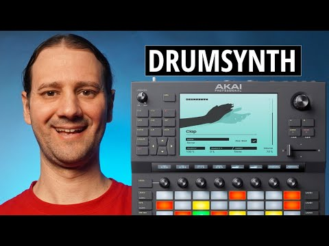 AKAI FORCE - DRUMSYNTH - 3.0.6 Firmware Update