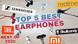 TOP 5 EARPHONES UNDER 1000 in INDIA. With Good Music & Durability. Better than TWS under 3000.