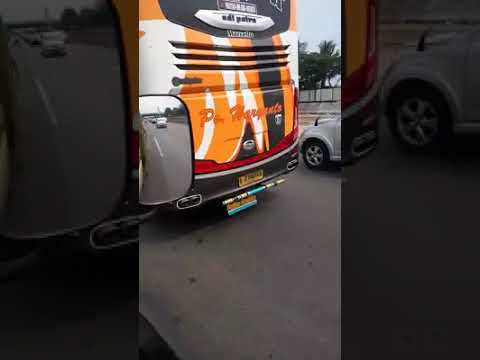 Suara knalpot bus seperti suara jet in frame Hr 21 Marcello