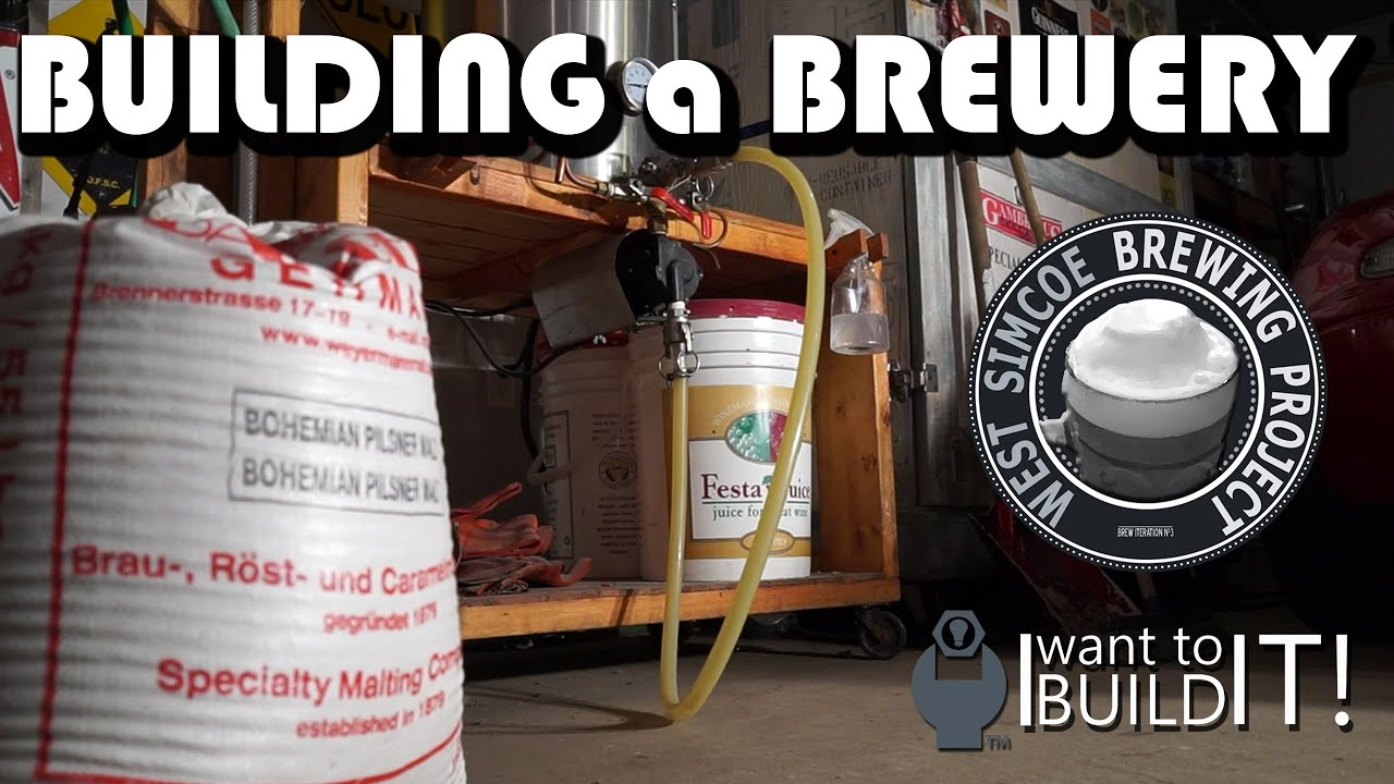 The Art of Building a Brewery - 1