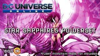 DCUO - NEW POWERSET! Star Sapphire powers trailer - (Unofficial)