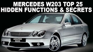 Mercedes W203 Top 25 Hidden Functions Secrets and Useful Tips  Full Selection of W203 Secrets