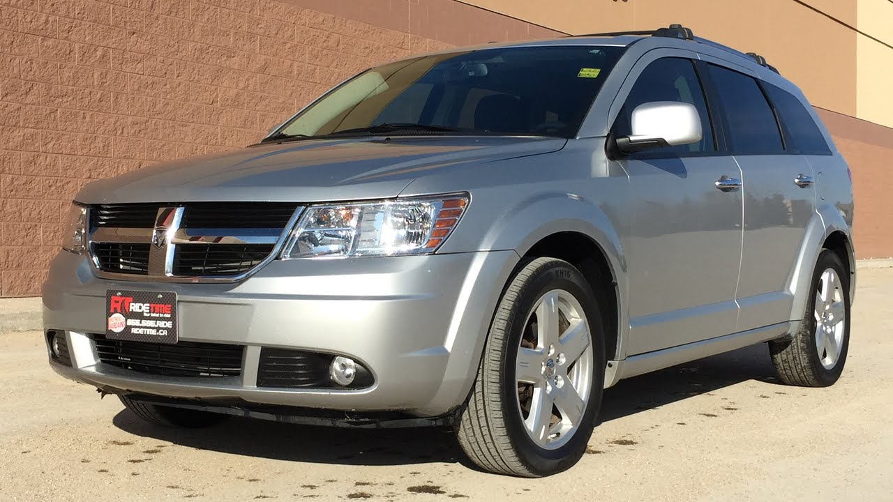 Dodge Journey R T Awd Heated Leather Seats Sirius Satellite Radio Huge Value Youtube