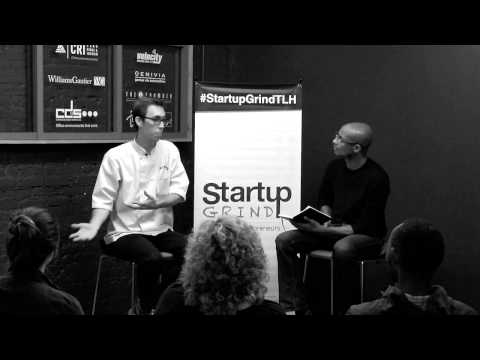 Wes Raley (Raley's Confectionary) at Startup Grind Tallahassee