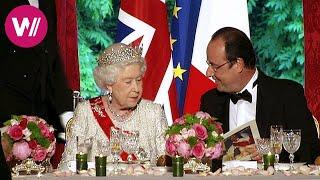 Un dîner pour la reine d'Angleterre - dans les cuisines de l'Élysée