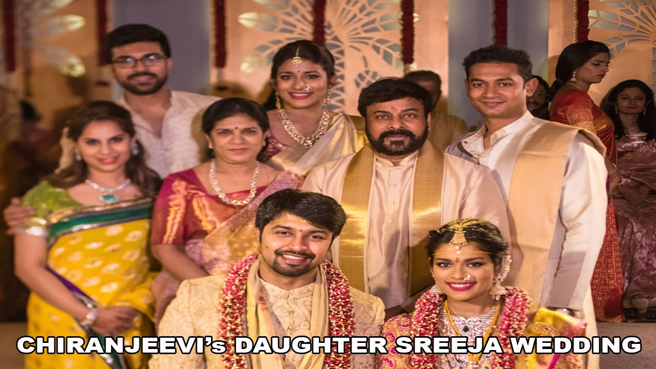 7f85a29479e5 Chiranjeevi s Daughter Sreeja wedding video