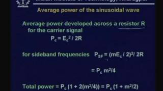 Lecture - 9 Transmission of Analog Signal - I