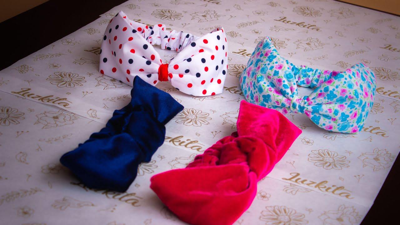 2 Diademas,turbantes,tiaras, aprende como hacerlas en 25 minutos, así super fácil/idea de negocio