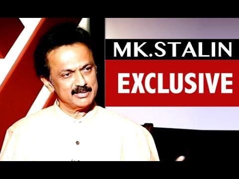 M. K .Stalin exclusive interview in Puthiya Thalaimurai TV - Payan Tharuma Payanam