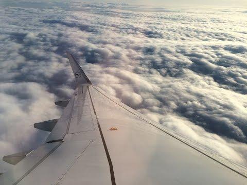 (Full Flight) Lufthansa flight LH 1451 Moscow-Domodedovo (DME) - Frankfurt (FRA)