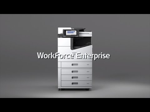 WorkForce Enterprise A3 Color Multifunction Network Printer-A Smarter Approach to Productivity