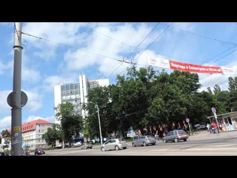 Советский проспект от площади Победы до улицы Чайковского. Калининград