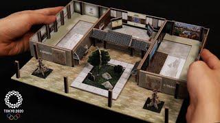 박스로 도쿄올림픽 팀코리아하우스 만들기