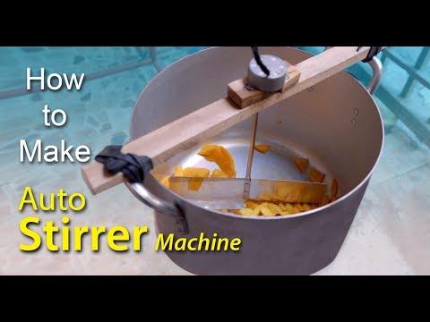 DIY Auto Stirrer Machine