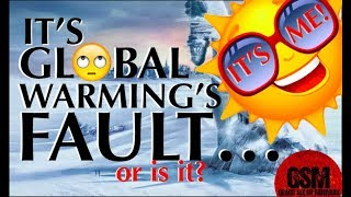 Global Warmists Blame Man for coming ICE AGE?  GSM NEWS Live 4/21/18