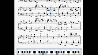 『トリッチ・トラッチ・ポルカ』(Tritsch-Tratsch-Polka Op.214)(ピアノ楽譜)