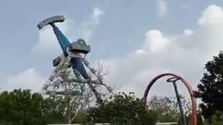Kankaria Ride Accident Ahmedabad Ride Collapse Goes Viral