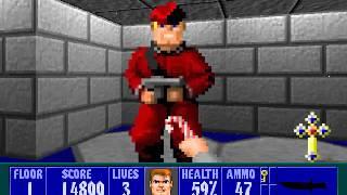 Wolfenstein 3D Christmas Special - Level 1