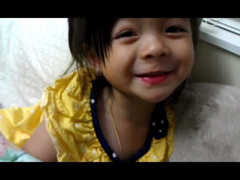 "Baby Jaelyn singing Vietnamese songs ""Ba Oi Ba"" & ""Ca Nha Ta"""