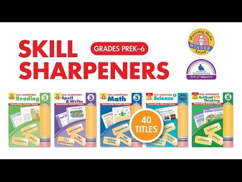 Evan-Moor's Skill Sharpeners Activity Books