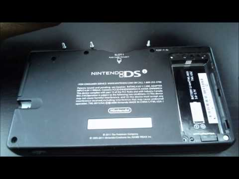 "Nintendo DSi Wifi Replacement Card Guide | ""An Error has occurred"" problem"