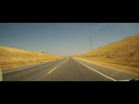 Driving from Bakersfield to Lindsay on California Route 65