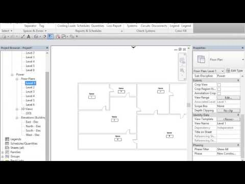Revit electrical tutorials part 1 in easy steps