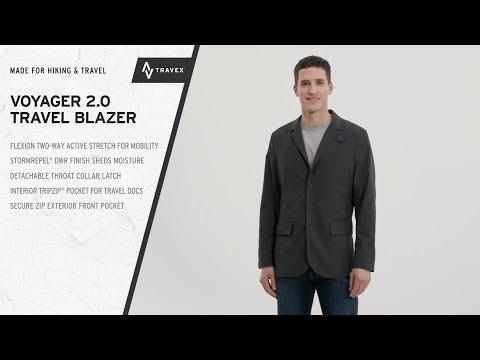 Men's Voyager 2.0 Travel Blazer