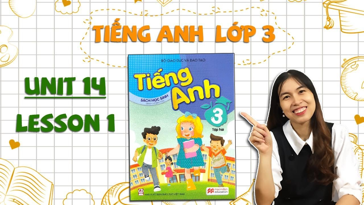 Học tiếng Anh lớp 3 – HỌC KÌ 2 – Unit 14. Are there any posters in the room? – Lesson 1 – THAKI