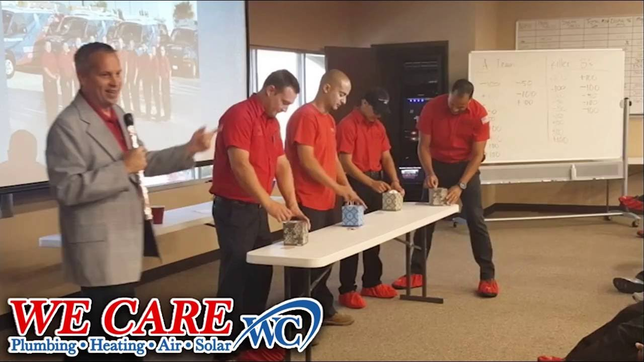 We Care Plumbing Heating Air And Solar Tissue Pulling Contest