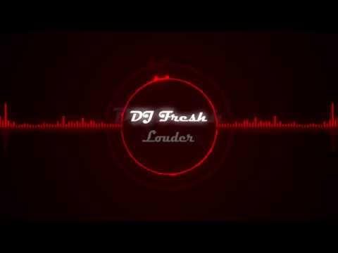 DJ Fresh - Louder (Graphic Equalizer)