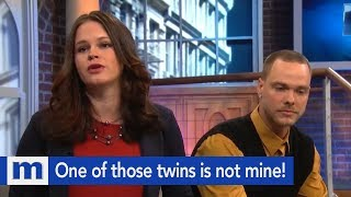 One of those twins is not mine...I know it! | The Maury Show