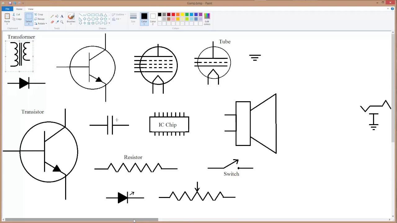 Schematic Diagram Drawing CAD 102-2 - YouTube