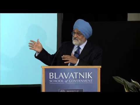 Montek Singh Ahluwalia: 'India's Challenges Ahead'