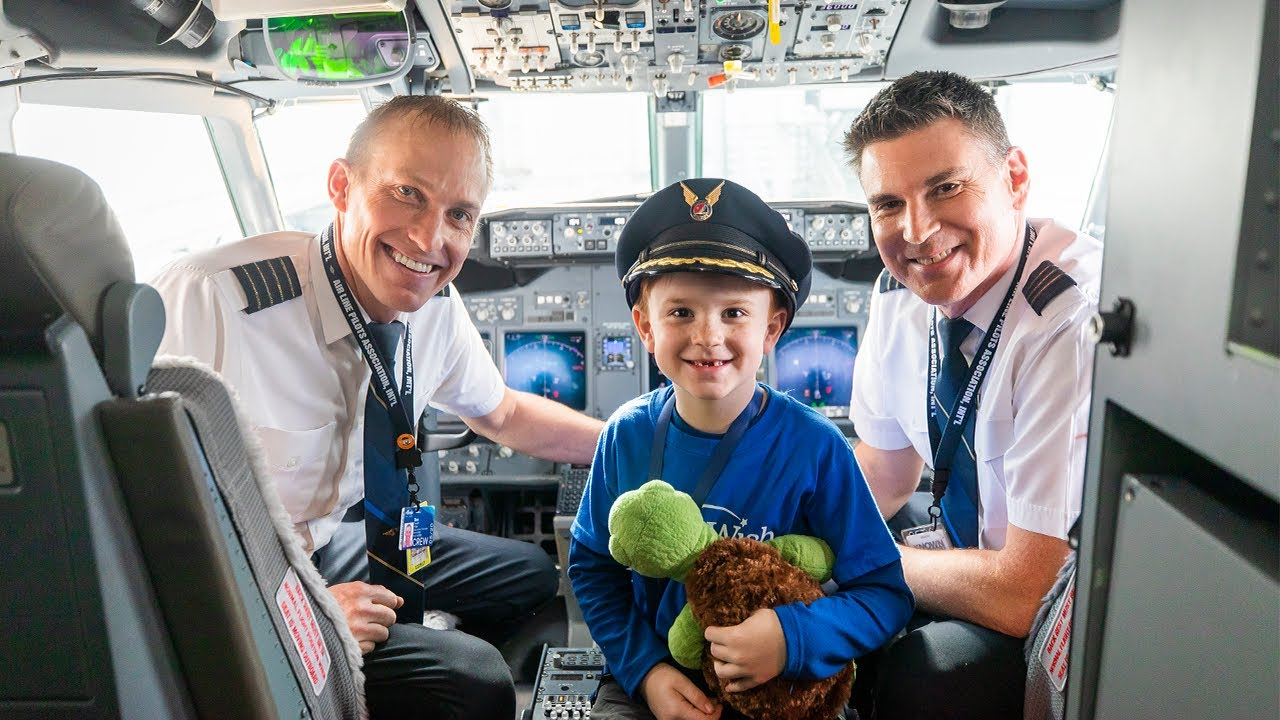 Pilot Flies Son on Make-A-Wish Trip