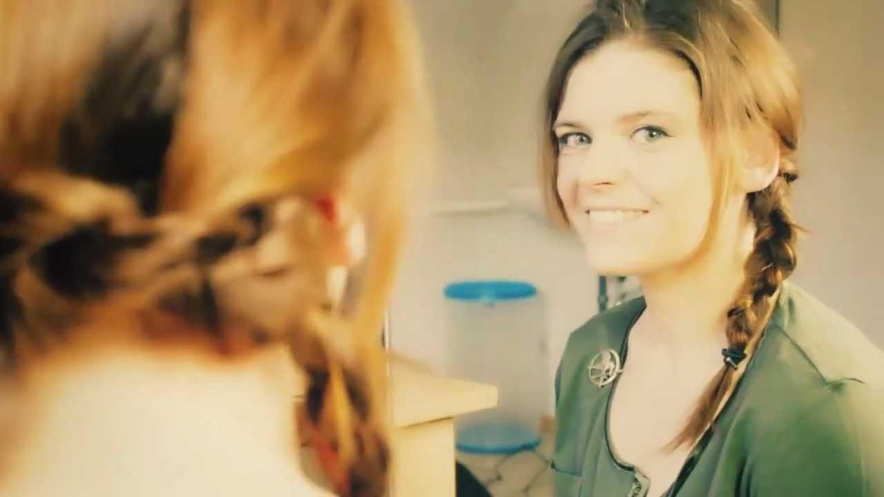 Katniss Zopf Aus Tribute Von Panem Anleitung Youtube