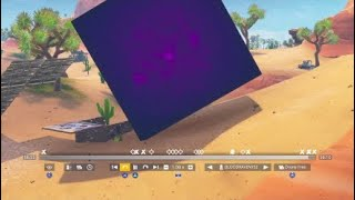FORTNITE PURPLE MYSTERY BOX FLIPPED OVER AGAIN * FIRST *