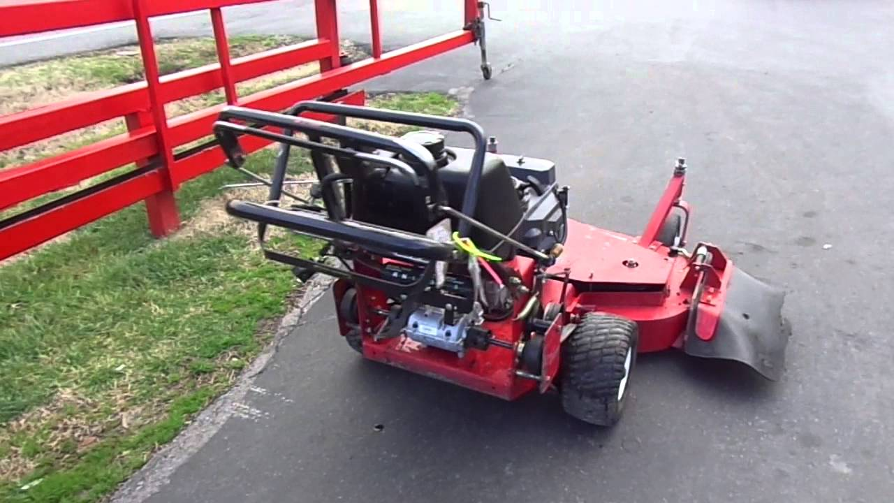 48 Toro Turbo Force 15 Hp Kawasaki Engine Walk Behind