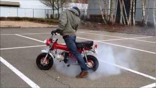 Dax lifan 150cc burnout