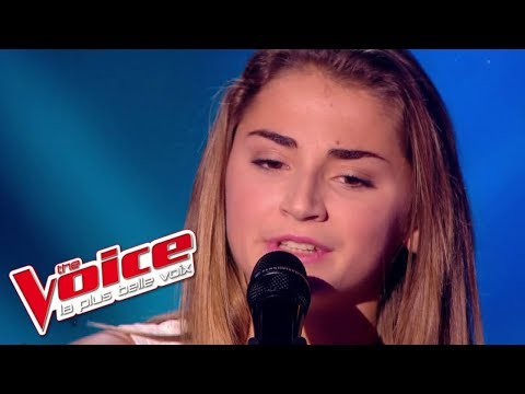 Christophe – Aline  Lorenza  The Voice France 2015  Blind Audition